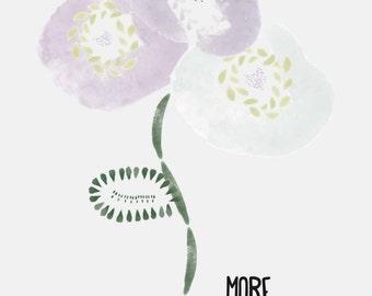 More flowers Illustration
