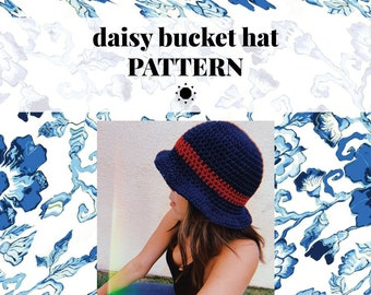 DAISY bucket hat pattern