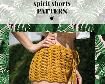 SPIRIT shorts pattern