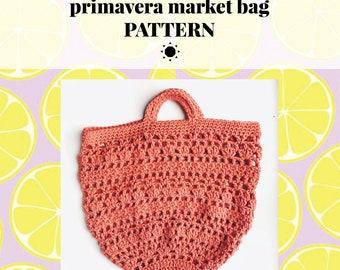 PRIMAVERA market bag pattern