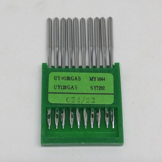 UY128GAS Ball-Point Industrial CoverStitch Machine Needles 100 Organ UYX128GAS