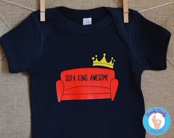 sofa king awesome. Brilliant Awesome Sofa King Awesome Awesome  Funny Onesie Kids Shirt Edgy Naughty  Silly Sarcastic Inside Sofa King Awesome