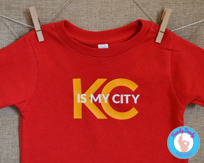 dc37c2bc KC Is My City - KC Chiefs Kids Shirt - Baby Onesie - Toddler Tee - Kids  T-Shirt - Kansas City Pride - Kansas City Chiefs - Chiefs Fan