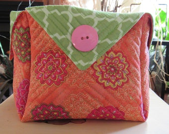 Handmade Quilted Basket #920175