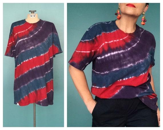 Tie Dye T Shirt 90s Tie Dye Shirt, TaraLynEvansStu