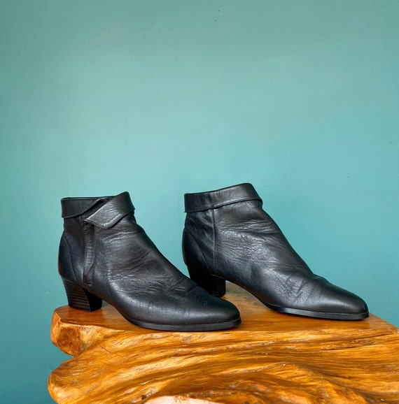 Ankle Boots 90s Leather Ankle Boots Women, TaraLy… - image 4