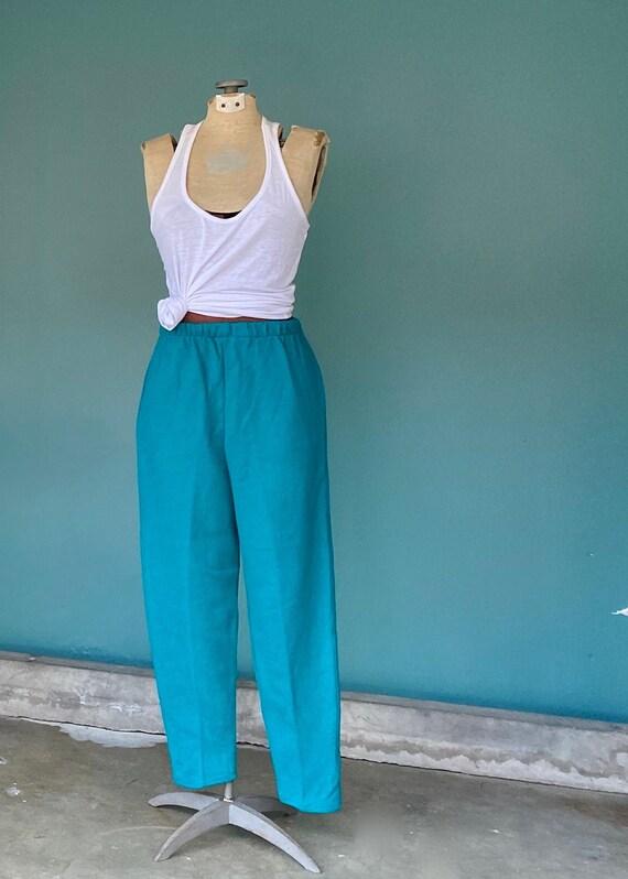 Knit Vintage Pants 70s Vintage Pants, TaraLynEvan… - image 2