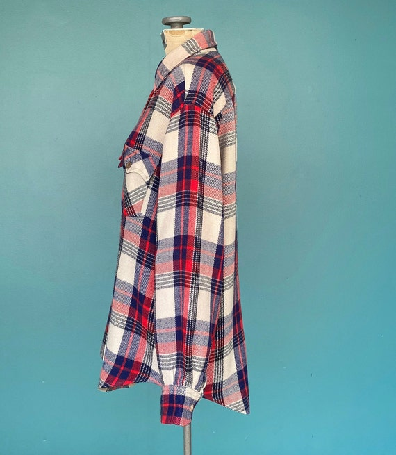 Flannel Shirt Plaid Shirt Vintage Flannel Womens … - image 6