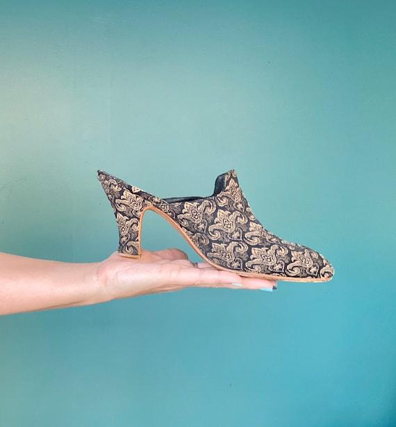 80s Womens Mules Vintage Slip On Slides, TaraLynEv