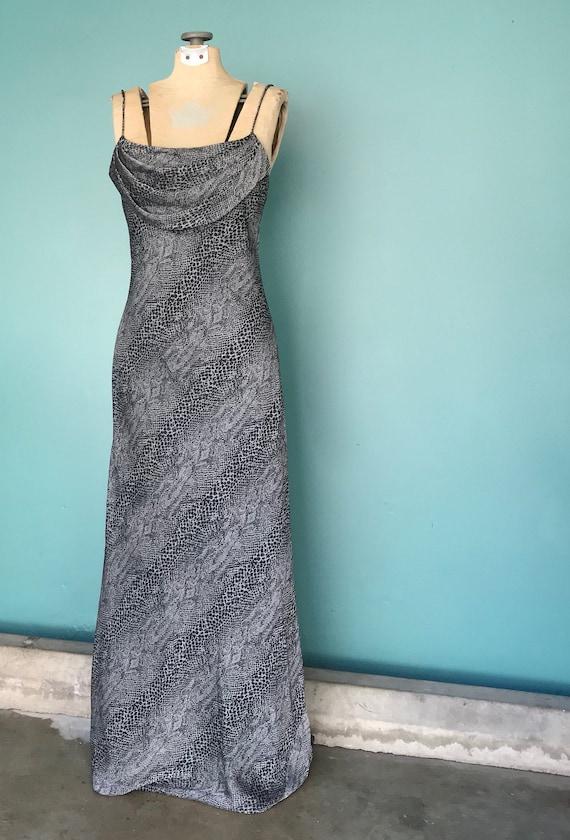 90s Slip Dress 90s Maxi Vintage Slip Dress, TaraL… - image 2