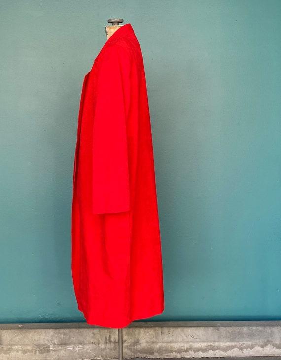 Duster Womens Duster Women Duster Coat Red Coat D… - image 5