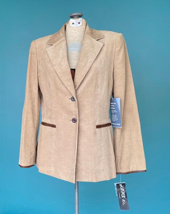 Corduroy Pant Suit Womens Vintage Suit, 28 Waist … - image 3