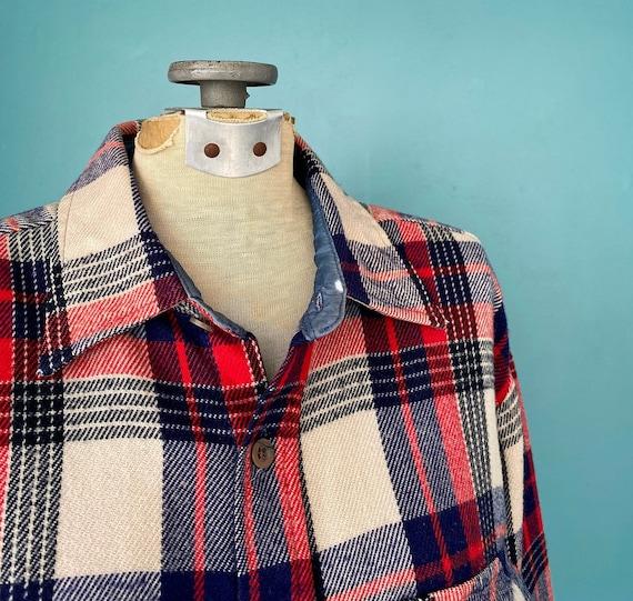 Flannel Shirt Plaid Shirt Vintage Flannel Womens … - image 4