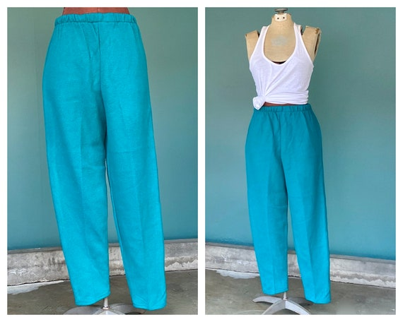 Knit Vintage Pants 70s Vintage Pants, TaraLynEvan… - image 1