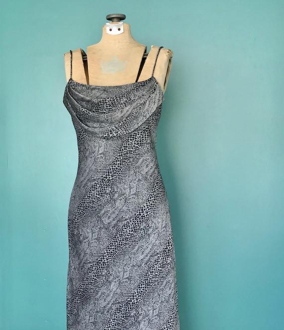 90s Slip Dress 90s Maxi Vintage Slip Dress, TaraL… - image 3