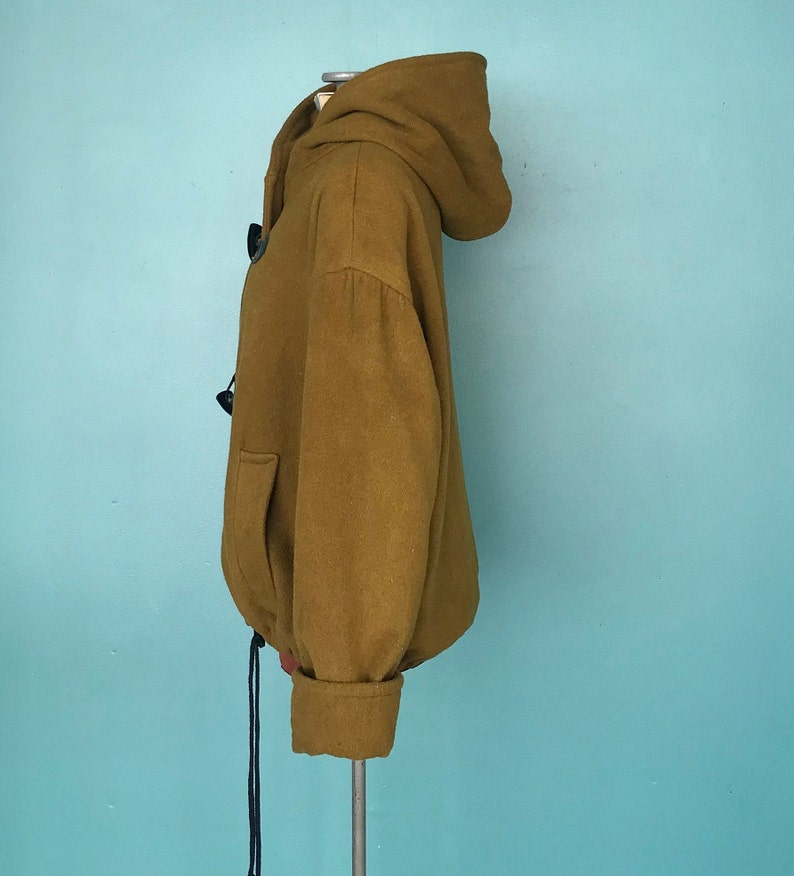 80s Olive Wool Coat Vintage Green Wool Coat TaraLynEvansStudio