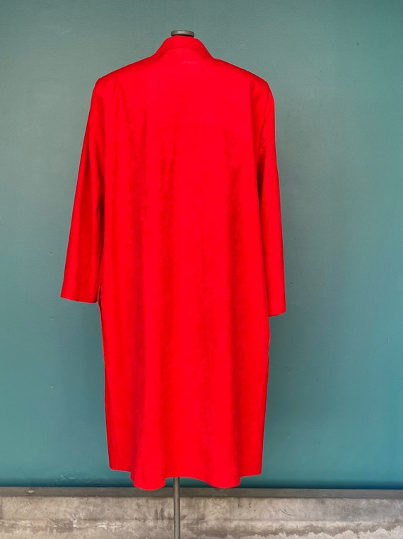 Duster Womens Duster Women Duster Coat Red Coat D… - image 7