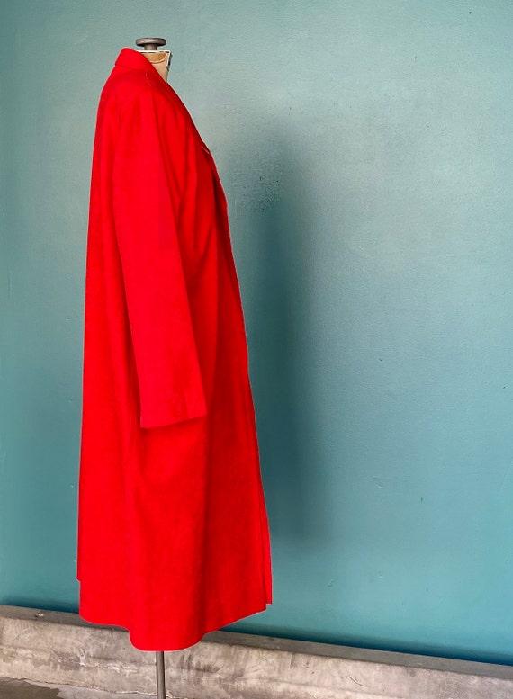 Duster Womens Duster Women Duster Coat Red Coat D… - image 6