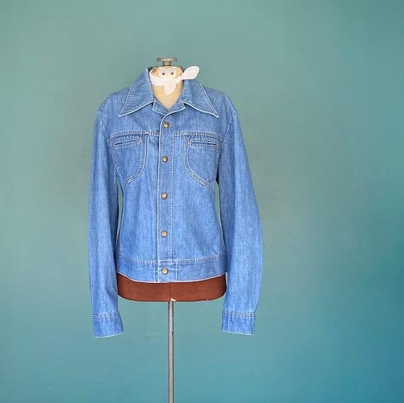 Vintage Lee 70s Denim Womens Jean Jacket Denim 70s