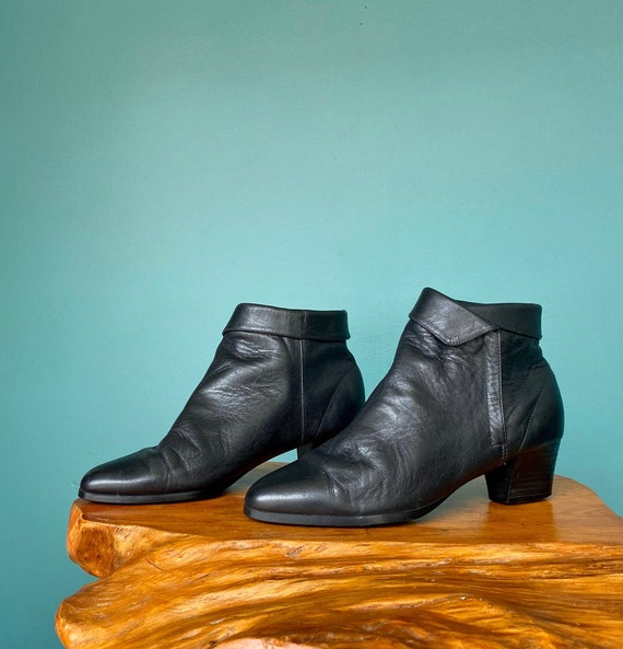 Ankle Boots 90s Leather Ankle Boots Women, TaraLy… - image 5
