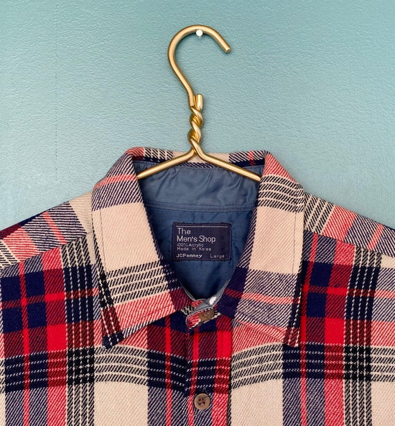 Flannel Shirt Plaid Shirt Vintage Flannel Womens … - image 8