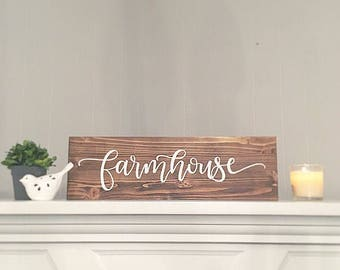 wood sign wooden sign Farmhouse sign farmhouse decor rustic sign rustic home decor handpainted sign farmhouse home decor sign wall decor
