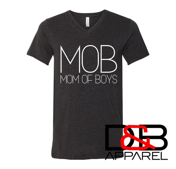 Part of the MOB Mother Of Boys Women/'s Racerback Tank Top Mother/'s Day