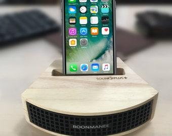 Wood Phone Dock Amplifier gift