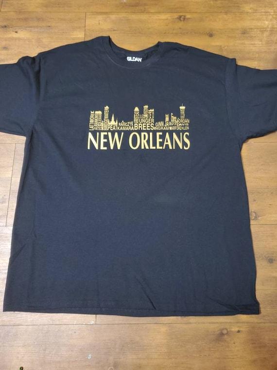 new orleans football shirt