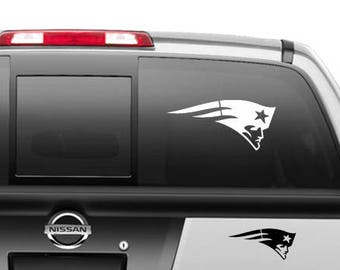 d73247a115a New England Patriots Car Decal Sticker
