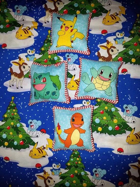 Pokemon Christmas Ornaments.Pokemon Plush Christmas Ornaments