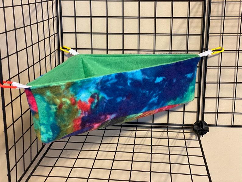 Large size corner hammock