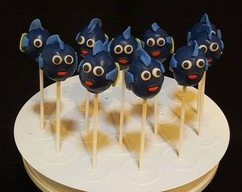"Cake pops ""Dory Inspired"" (Order of 13)"