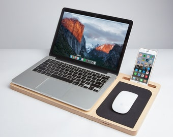 """LapPad GO - Laptop Table & Portable Desk (for laptops up to 13"""") -- Free and Fast Shipping --"""