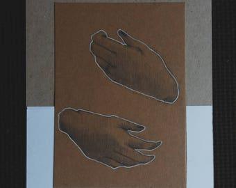 HANDS | Illustration | Original | Drawings | Print