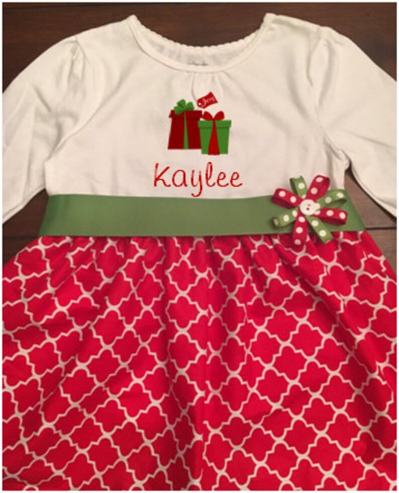 46ee39742 Christmas Dress Toddler Christmass Dress Girl Girl Christmas | Etsy