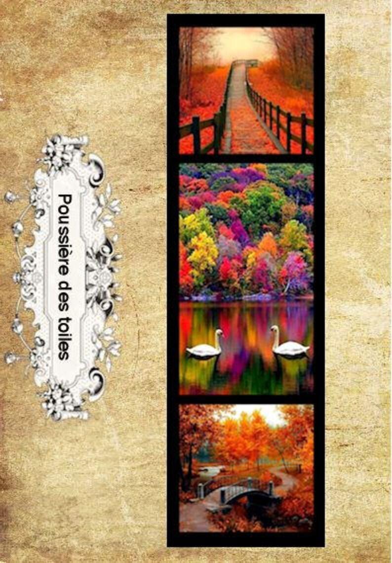 Marque-page automne image 0