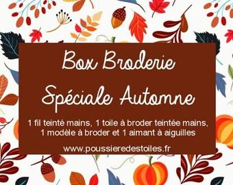 Box broderie spéciale automne
