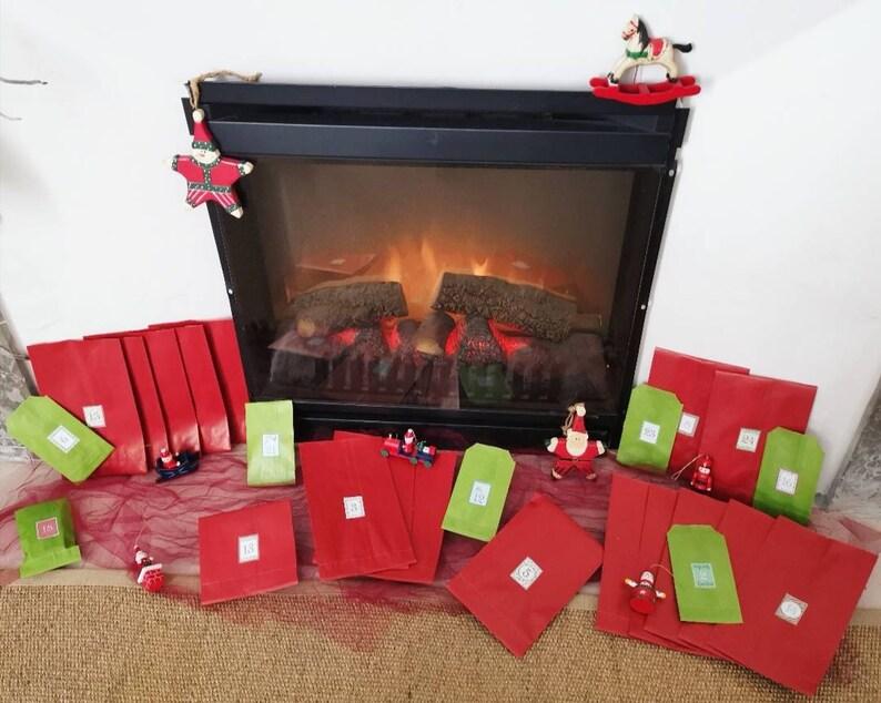 Calendrier de l'avent Noël 2019 : Papeterie et Cartes image 0