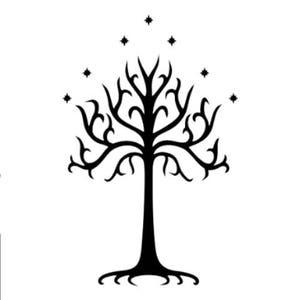 Tree Of Gondor Temporary Tattoo Etsy
