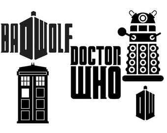 Doctor Who Decals
