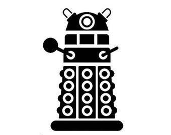 DR WHO Dalek Wall Decal
