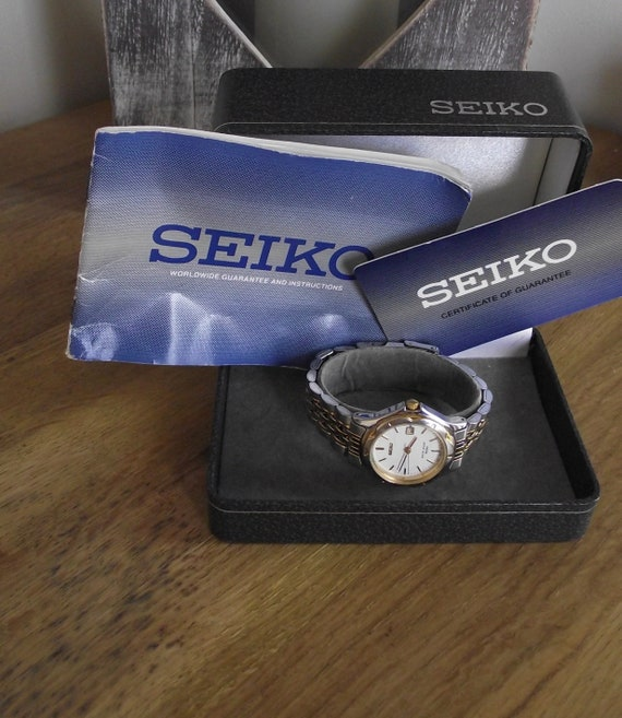 vintage watch / Seiko ladies watch / vintage wrist