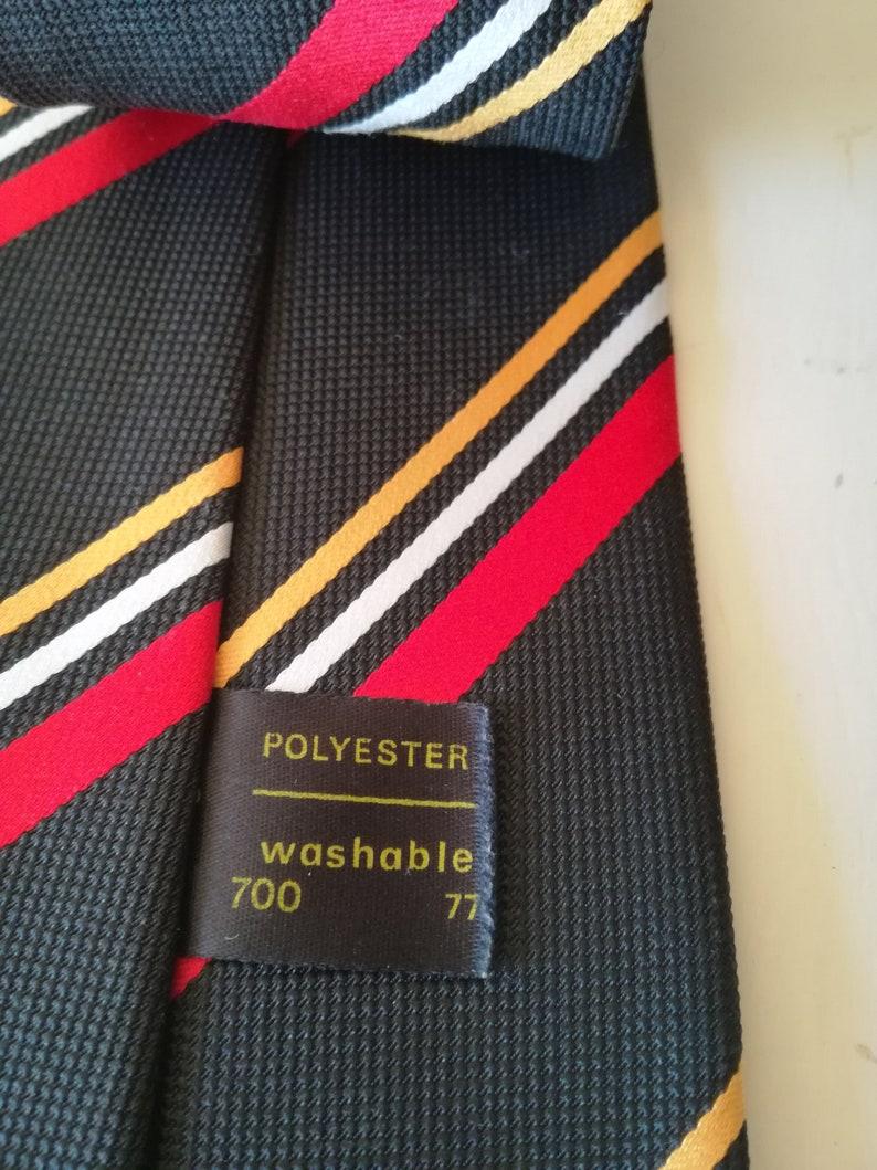 vintage Tie  School tie  clothing  Classic  Tootal tie   menswear  vintage clothing   gift for him  retro tie  tie