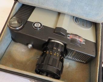 vintage Super 8  / Sankyo super 8 Classic camera with hard case