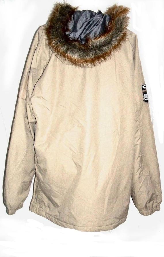vintage size new DJ old jacket OAKLEY stock coat overhead clothing vintage mens xl gift AqtFAZxrB