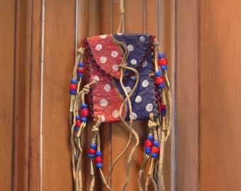 Medicine Pouch, Personal Necklace, Native American