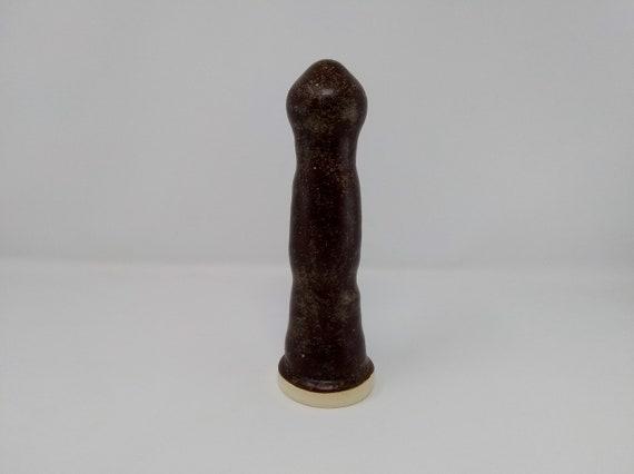 ADULT SEX TOY - Temmoku - Handmade Ceramic #357