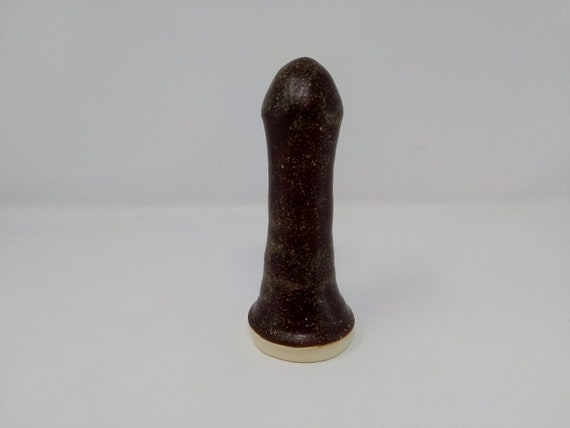 ADULT SEX TOY - Temmoku - Handmade Ceramic #355
