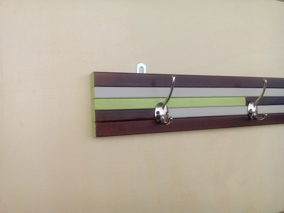 Appendiabiti muro legno design moderno attaccapanni ingresso etsy